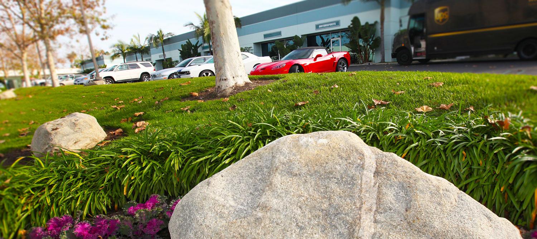 Resco properties business properties office leasing for Landscaping rocks orange county